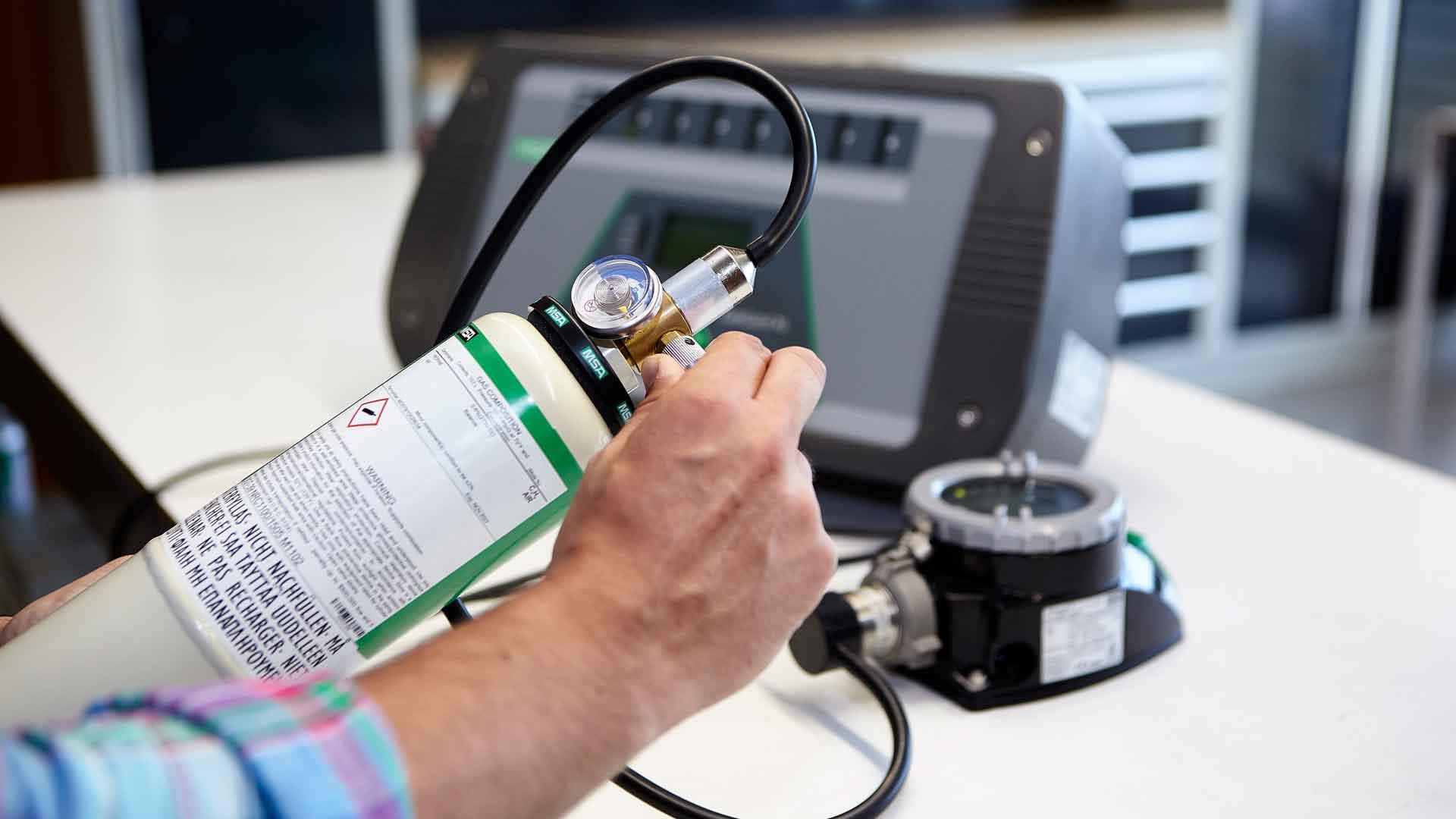 Tecnologías de calibración de detectores de gases