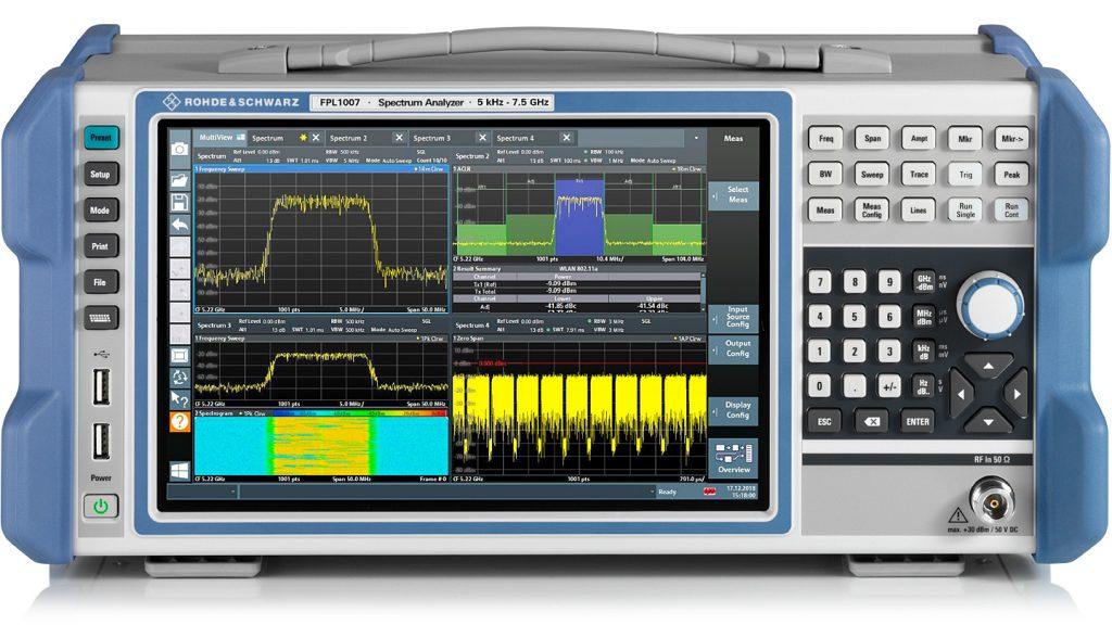 analizador espectro